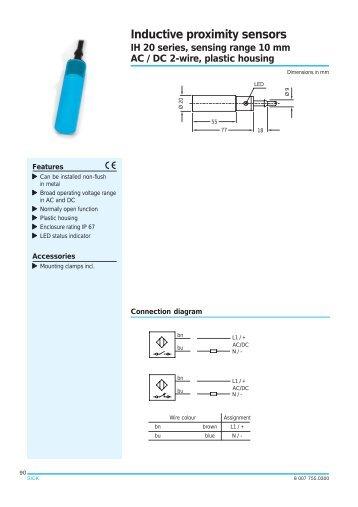 ak series analog inductive proximity sensors automationdirect com rh yumpu com Euchner Proximity Switch BMW R1150RT Wiring-Diagram Horn