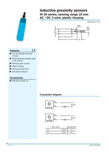 2wire Prox Switch Diagram - Technical Diagrams on