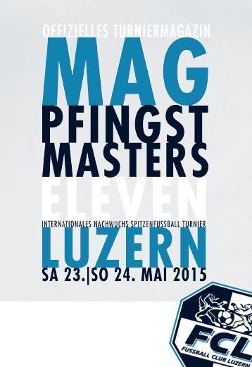 MAG PFINGST MASTERS ELEVEN | 2015