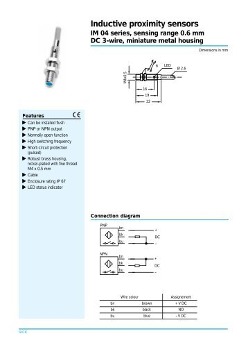 Dc 3 Wire Proximity Sensor Wiring Electrical Wiring Diagrams