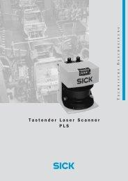 Tastender Laser Scanner PLS - 3D-Tech