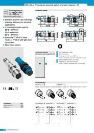VTE 18-3/4 Photoelectric proximity switch, energetic, infrared ... - TME