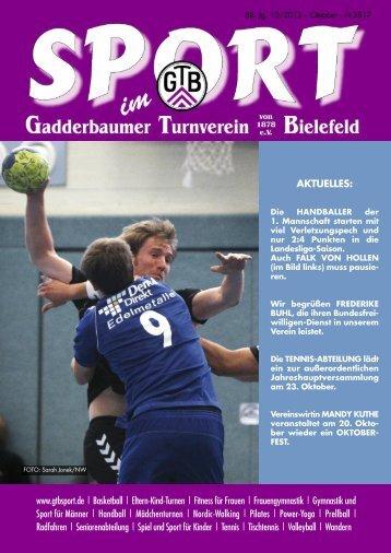 AKTUELLES - Gadderbaumer Turnverein v. 1878 eV Bielefeld