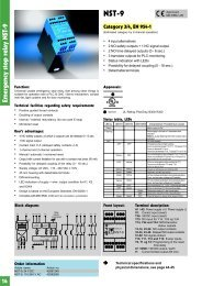 Emergency stop relay NST-9