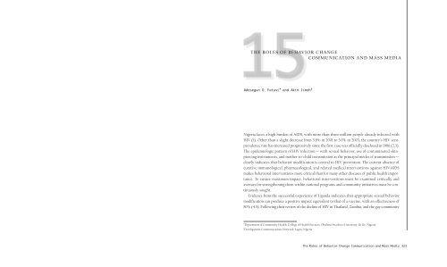behavior change paper