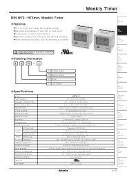 Download Autonics FDT Fiber Optic Sensors Technical Data Sheet