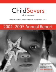 2004–2005 Annual Report - ChildSavers