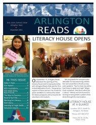 November 2011 newsletter - Arlington Public Library
