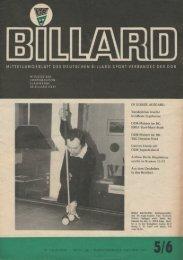 Mai 1977 - DDR Billardzeitungen 1976
