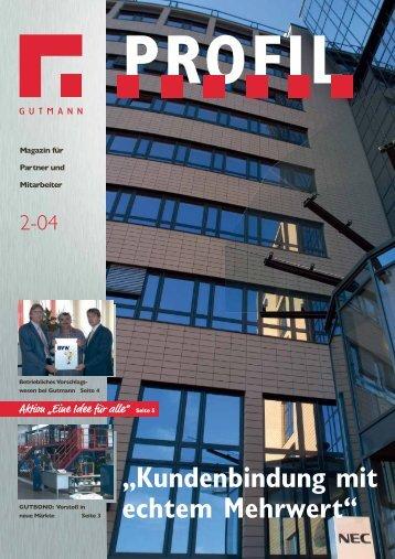 Unternehmensmagazin Profil 2-04.pdf - Gutmann AG