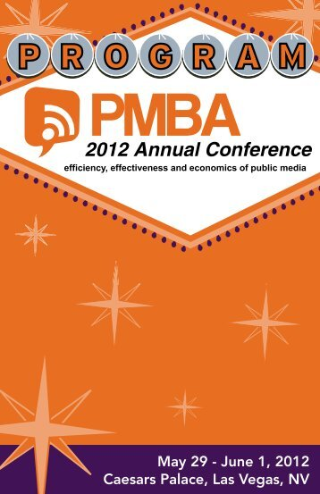 2012 Annual Conference - PMBA | Public Media Business Association