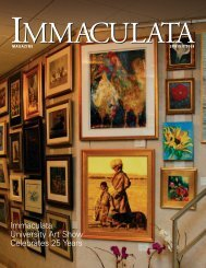 magazine spring 2008 - Immaculata University