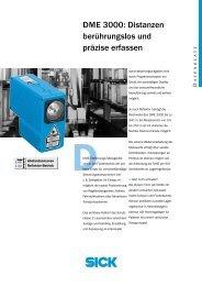 DME 3000: Distanzen berührungslos und präzise erfassen - 3D-Tech
