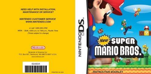 New Super Mario Bros  - Nintendo