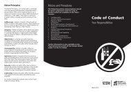 Code of Conduct - Heart of England NHS Foundation Trust