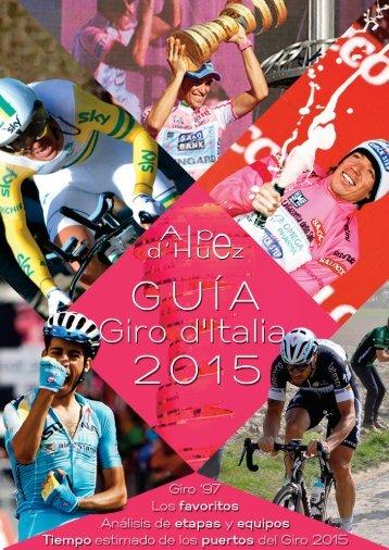 Guía Giro d'Italia 2015