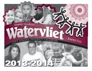 Download a 2013-14 school calendar - Watervliet City Schools
