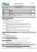 Technisches Datenblatt / Sicherheitsdatenblatt für 1231 als PDF - Seite 2