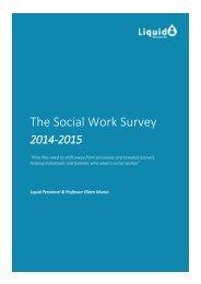 2014-2015-Social-Work-Survey-Report
