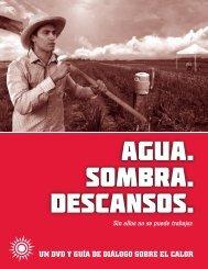 UN DVD Y GUíA DE DIáLOGO SOBRE EL CALOR - Agua. Sombra ...