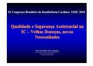 Qualidade e Segurança Assistencial na IC – Velhas ... - OPEC