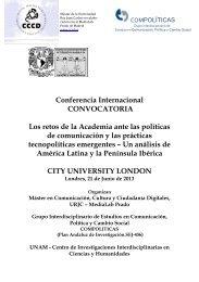 convocatoria - Centro de Investigaciones Interdisciplinarias en ...