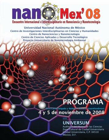 Programa - Centro de Investigaciones Interdisciplinarias en Ciencias y