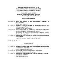 Programa completo - Centro de Investigaciones Interdisciplinarias ...