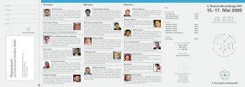 15.-17. Mai 2009 - Fachverband  Deutscher Heilpraktiker