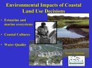 Environmental Impacts of Coastal Land Use Decisions - Georgia ...