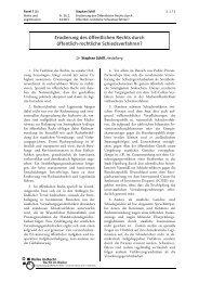 Panel 7 (b): Schill - 54. Assistententagung Öffentliches Recht