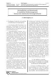 Panel 4 (b): Vosgerau - 54. Assistententagung Öffentliches Recht