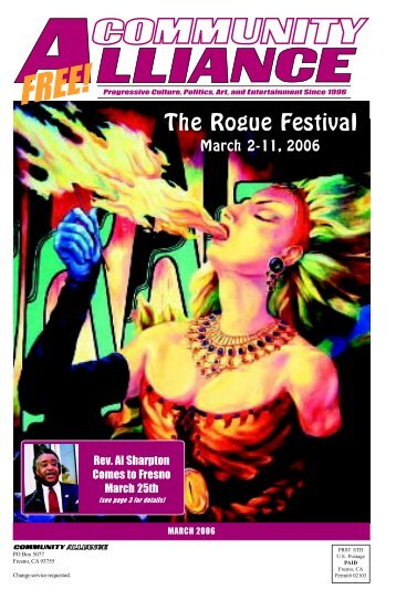 MARCH 2006 The Rogue Festival - Community Alliance