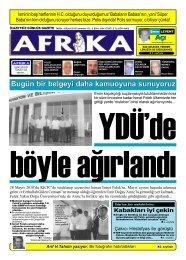 Kasif Ten Divana 48 Saat Sure Afrika Gazetesi