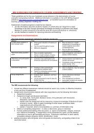 IMS GUIDELINES FOR GRADUATE COURSE ASSESSMENT AND ...