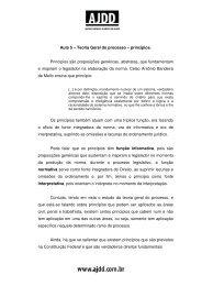 Aula 5 – Teoria Geral do processo – princípios. Princípios ... - AJDD