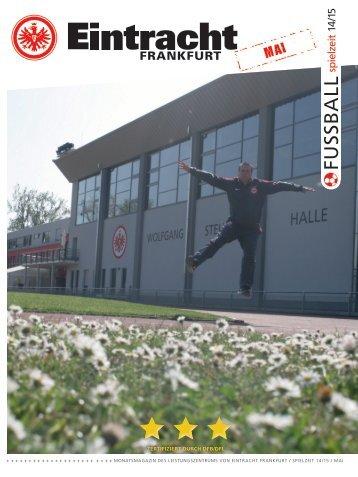Eintracht Frankfurt Spielzeit 14/15 Mai