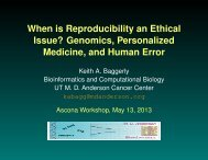 When Is Reproducibility an Ethical Issue?