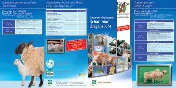 Schaf- und Ziegenzucht - VDL