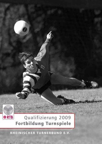 Qualifizierung 2009 Fortbildung Turnspiele