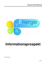 Informationsprospekt - 491 kB - Stadtwerke Bad Driburg GmbH