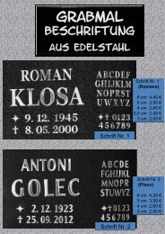 Romano - Friedhofsmuseum Berlin