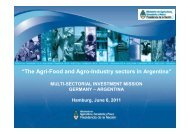 """""""The Agri-Food and Agro-Industry sectors in Argentina"""""""