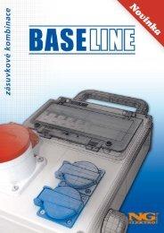 BASE LINE zásuvkové kombinace - NG ELEKTRO TRADE, as