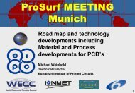 Road map and technology developments of PCB's Material - Prosurf