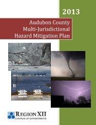 2013 Audubon County Hazard Mitigation Plan - Region XII Council ...