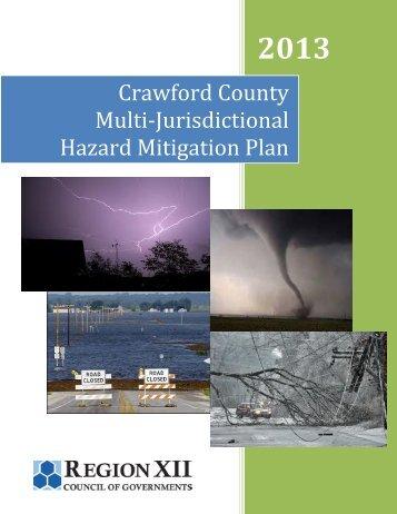 Crawford County Multi-Jurisdictional Hazard Mitigation Plan