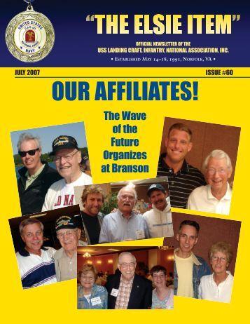 elsie item issue 60 july 2007 - USS Landing Craft Infantry National ...