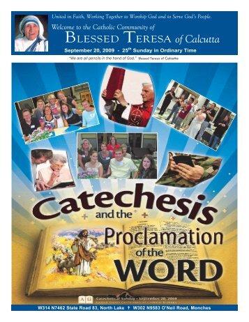 20Sept2009 - Blessed Teresa of Calcutta Parish