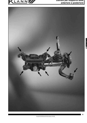 Utensili per supporto asse anteriore e posteriore (file PDF ... - Sicutool